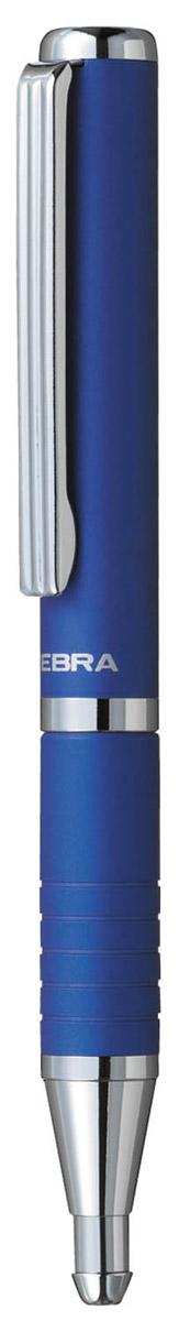 Zebra Ручка шариковая Slide цвет корпуса синий305 072020Шариковая ручка Zebra Slide идеально подходит для записных книжек и органайзеров. В рабочем состоянии ручка раздвигается, приобретая длину обычной ручки, в закрытом виде очень компактна. Строгий стильный дизайн понравится всем любителям классики.