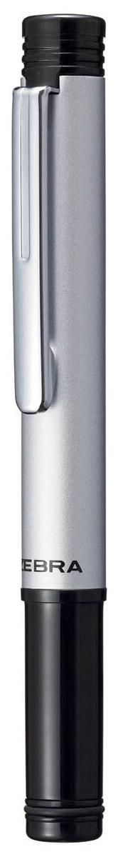 Zebra Ручка шариковая M-5 цвет корпуса серебристый305 220033Миниатюрная шариковая ручка Zebra M-5 легко умещается в дамской сумочке. Удлиненный металлический колпачок, надетый с нерабочей стороны ручки, компенсирует ее небольшую длину. Эта модель идеально подходит для записных книжек и органайзеров.