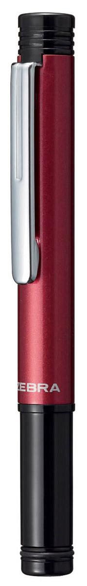 Zebra Ручка шариковая M-5 цвет корпуса бордовый305 220040Миниатюрная шариковая ручка Zebra M-5 легко умещается в дамской сумочке. Удлиненный металлический колпачок, надетый с нерабочей стороны ручки, компенсирует ее небольшую длину. Эта модель идеально подходит для записных книжек и органайзеров.