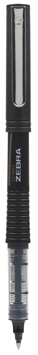 Zebra Ручка роллер SX-60A5 черная