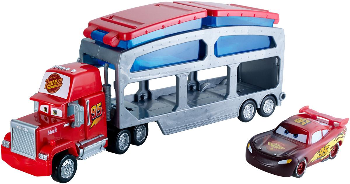 Cars Набор машинок Трейлер Мак