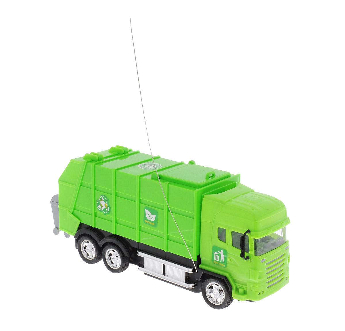 Junfa Toys Мусоровоз на радиоуправлении