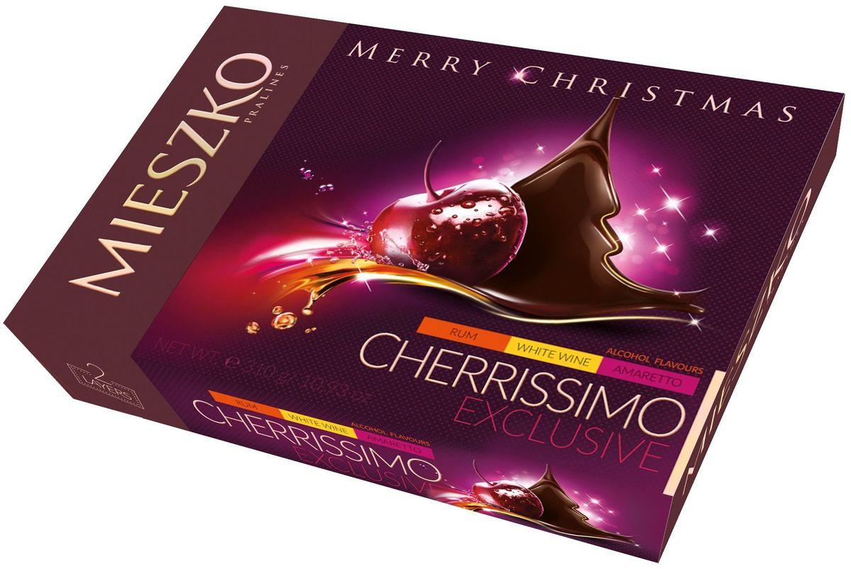 Mieszko Черрисимо Эксклюзив набор шоколадных конфет, 310 г12406