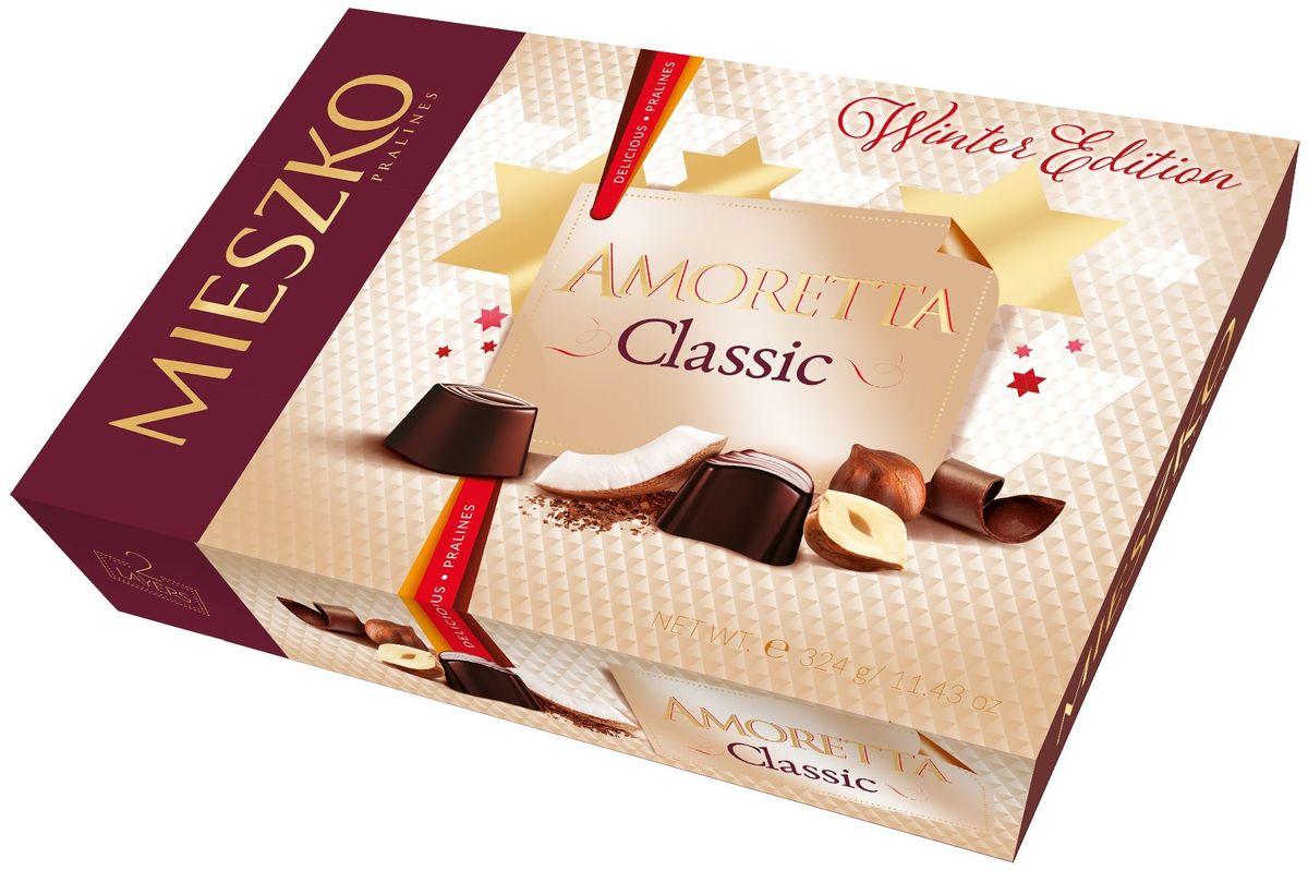 Mieszko Амаретта набор шоколадных конфет, 325 г