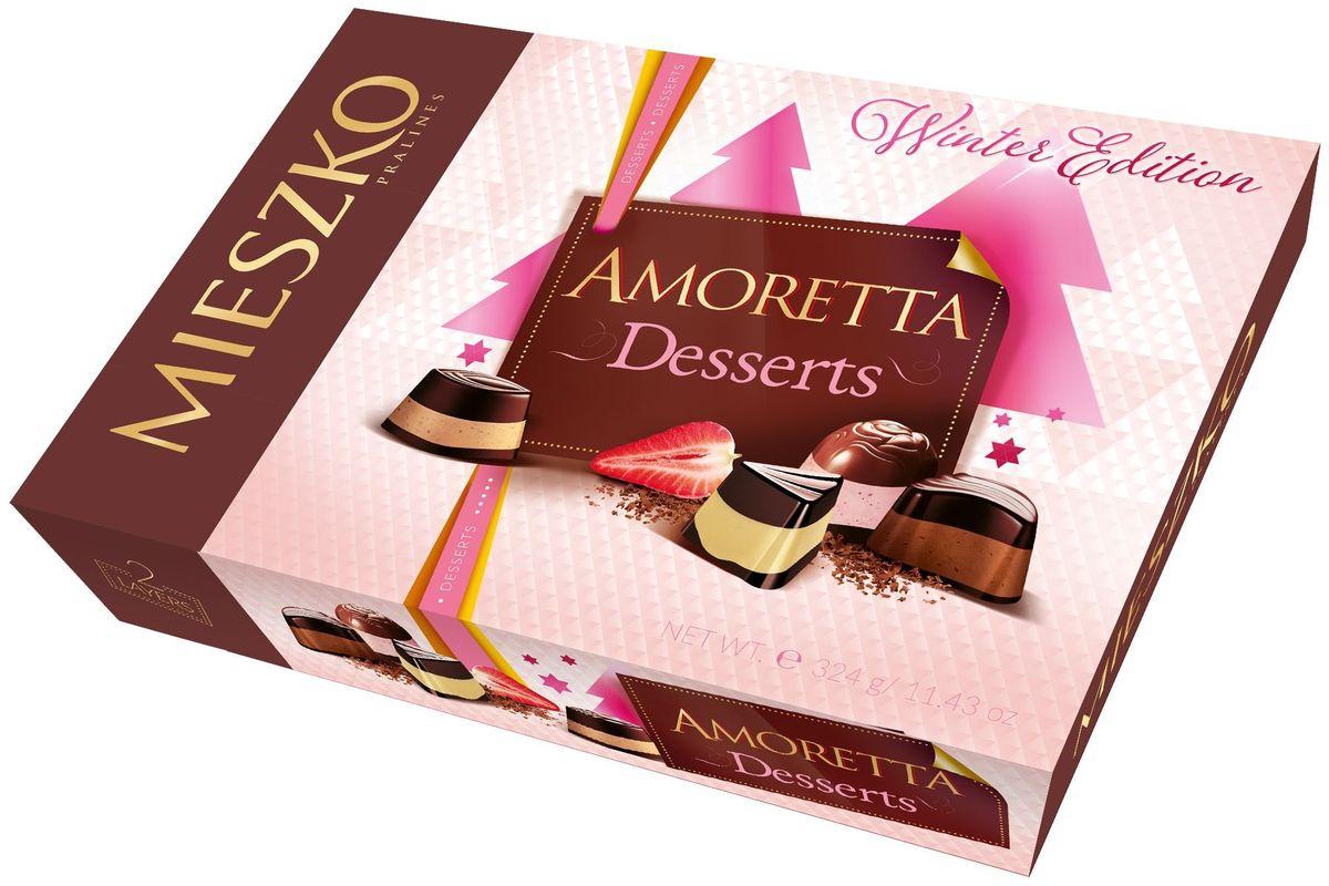 Mieszko Амаретта десерт набор шоколадных конфет, 324 г14019