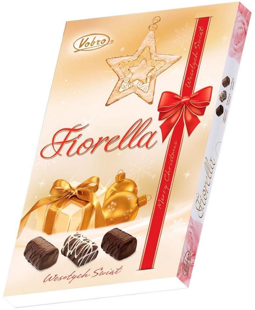 Vobro Fiorella Фиорелла набор шоколадных конфет, 140 г