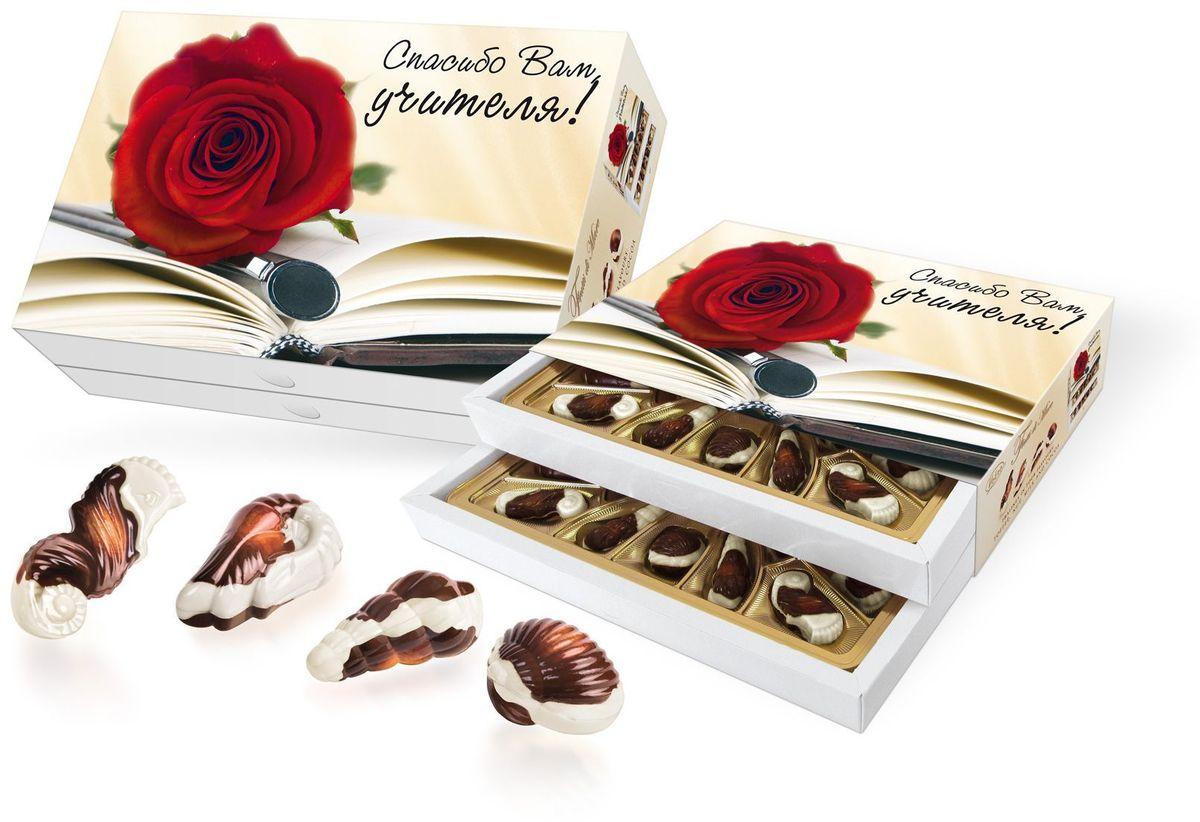 Vobro Frutti di Mare С днем учителя набор шоколадных конфет в виде морских ракушек, 350 г11569