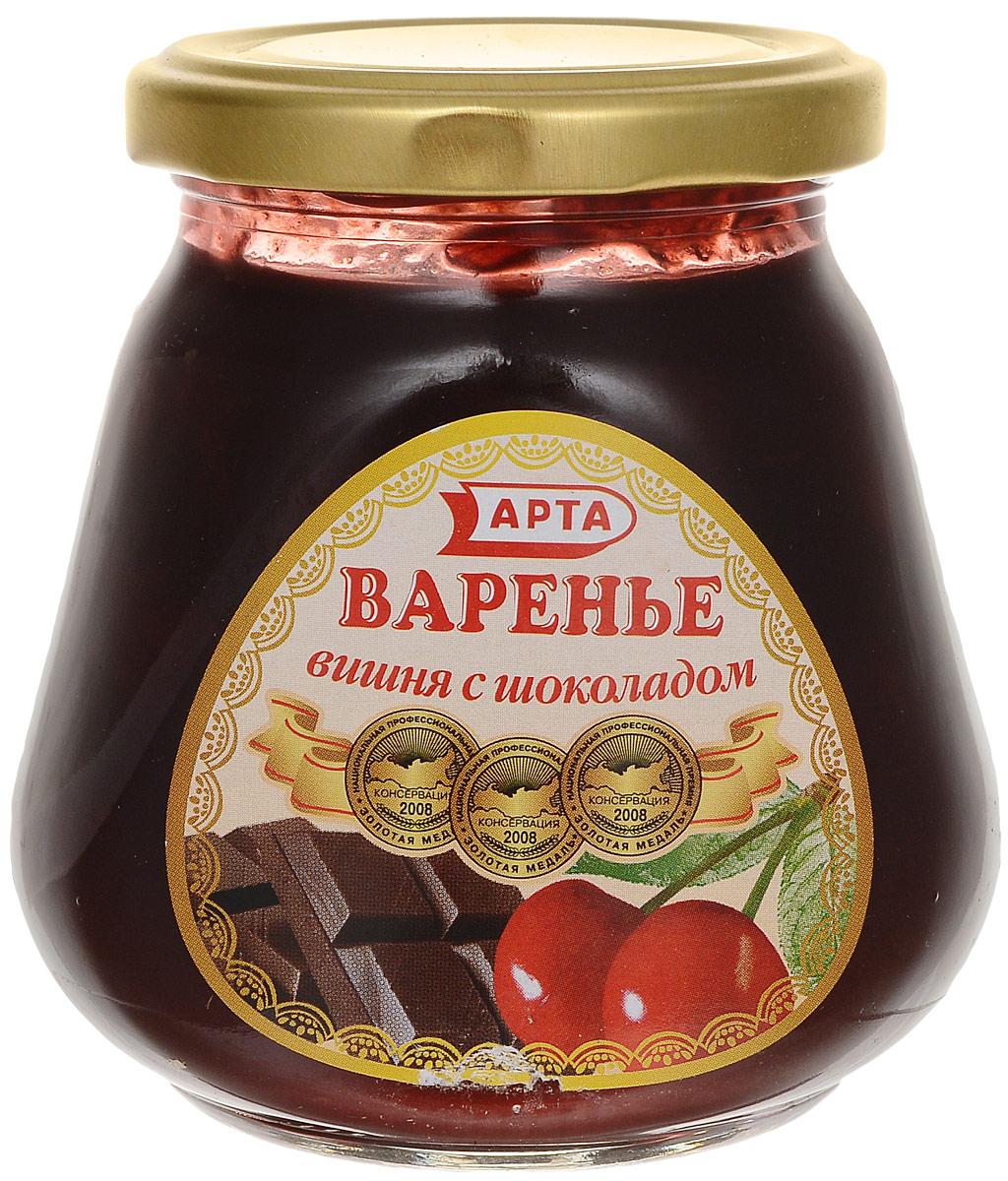 Арта варенье из вишни и шоколада, 340 г