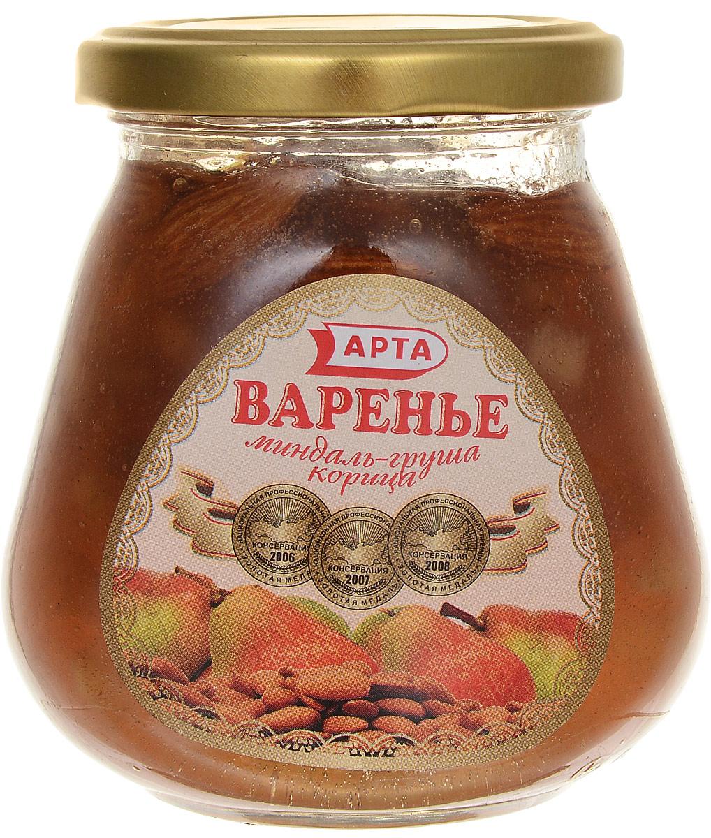 Арта варенье из груши, корицы и миндаля, 340 г