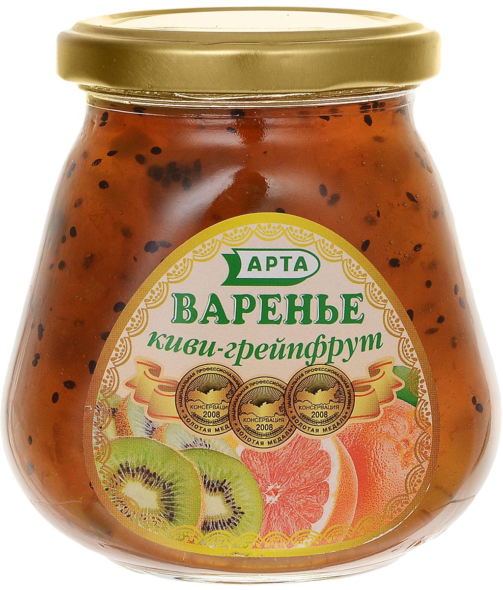 Арта варенье из киви и грейпфрута, 340 г