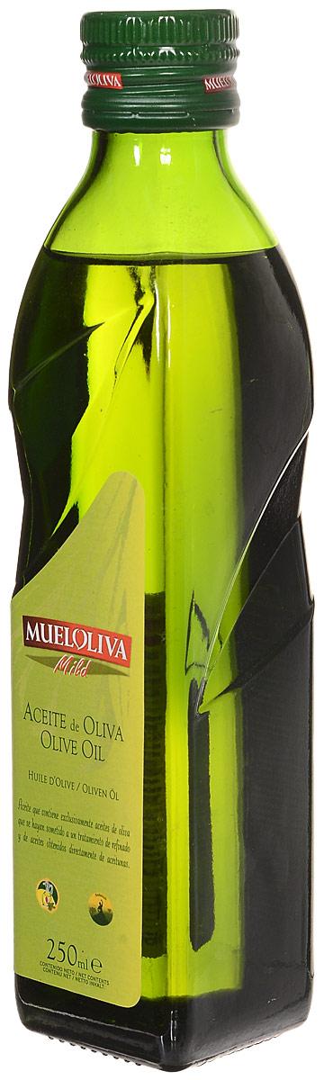 Mueloliva Mild масло оливковое Pure, 250 мл8411342000207Масло оливковое Mueloliva Mild. Натуральное 100% оливковое масло высшего качества. Обладает мягким вкусом и ароматом. Прекрасно подходит для заправки салатов, жарки и фритюра