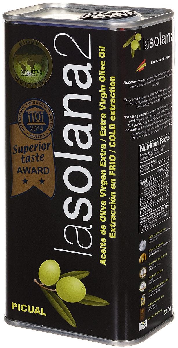 Lasolana2 масло оливковое Extra Virgin, 0,5 л (ж/б)