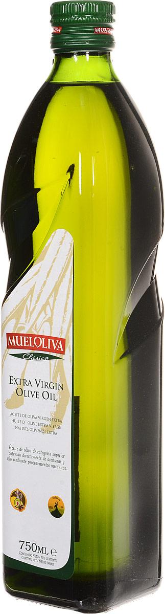 Mueloliva Clasica масло оливковое Extra Virgin, 750 мл (стеклянная бутылка)