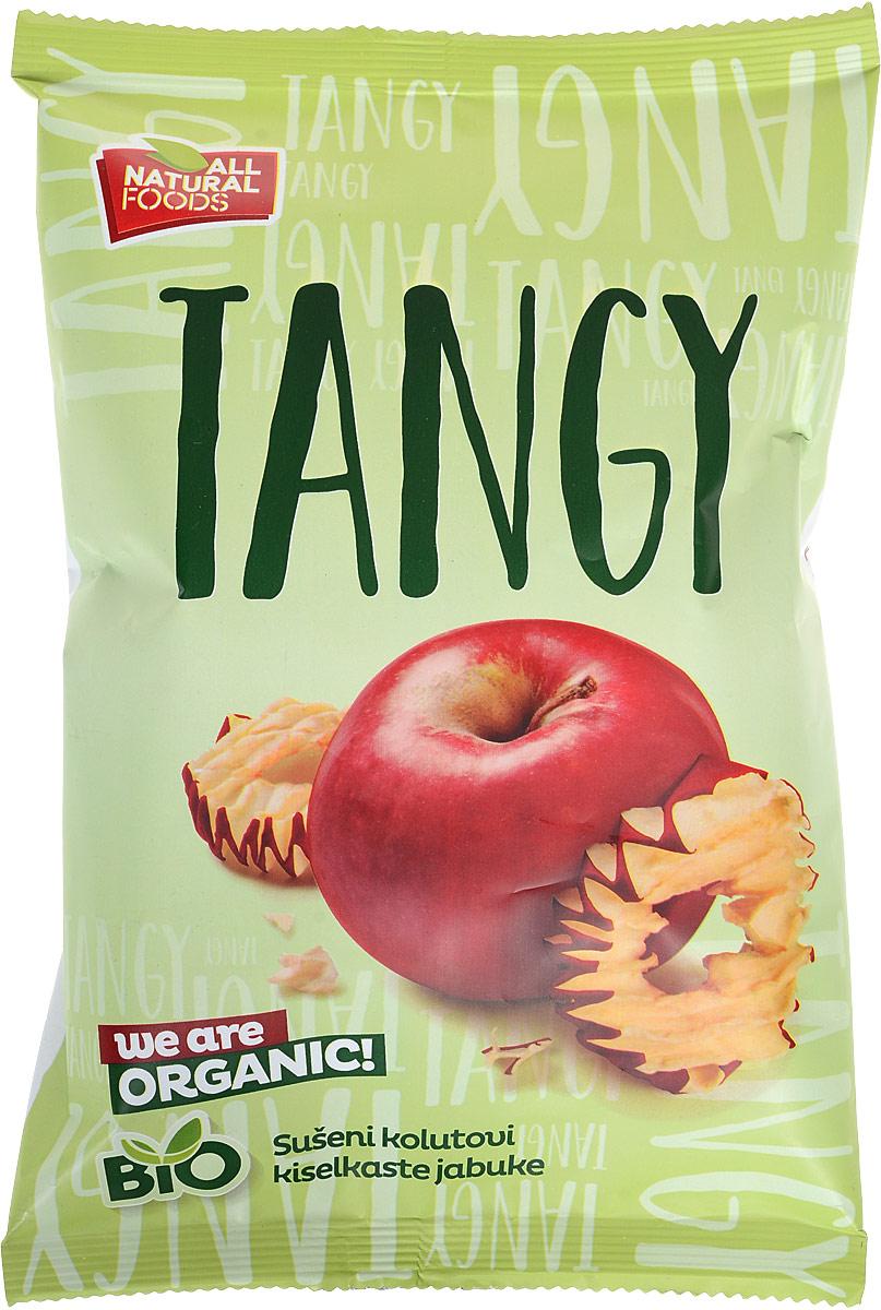 All Natural Foods сушеные колечки яблок кислый сорт, 40 г