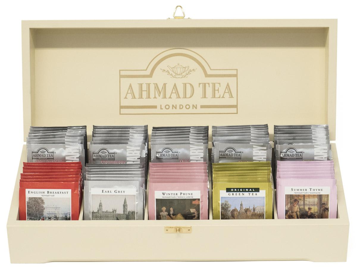 Это чайное ассорти - воплощение разнообразия и богатства чайного мира. В коллекции Ahmad Tea вы обязательно найдёте вкус, который захочется попробовать именно сегодня.