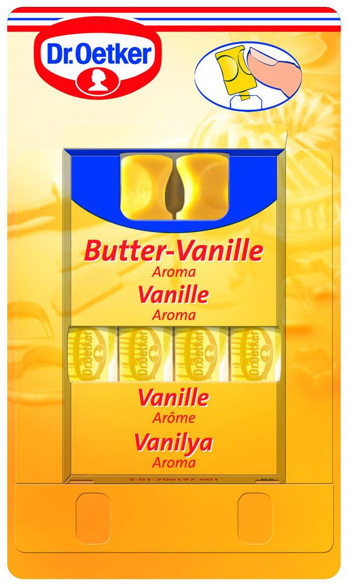 Dr.Oetker ароматизатор сливочная ваниль, 4 шт по 2 мл