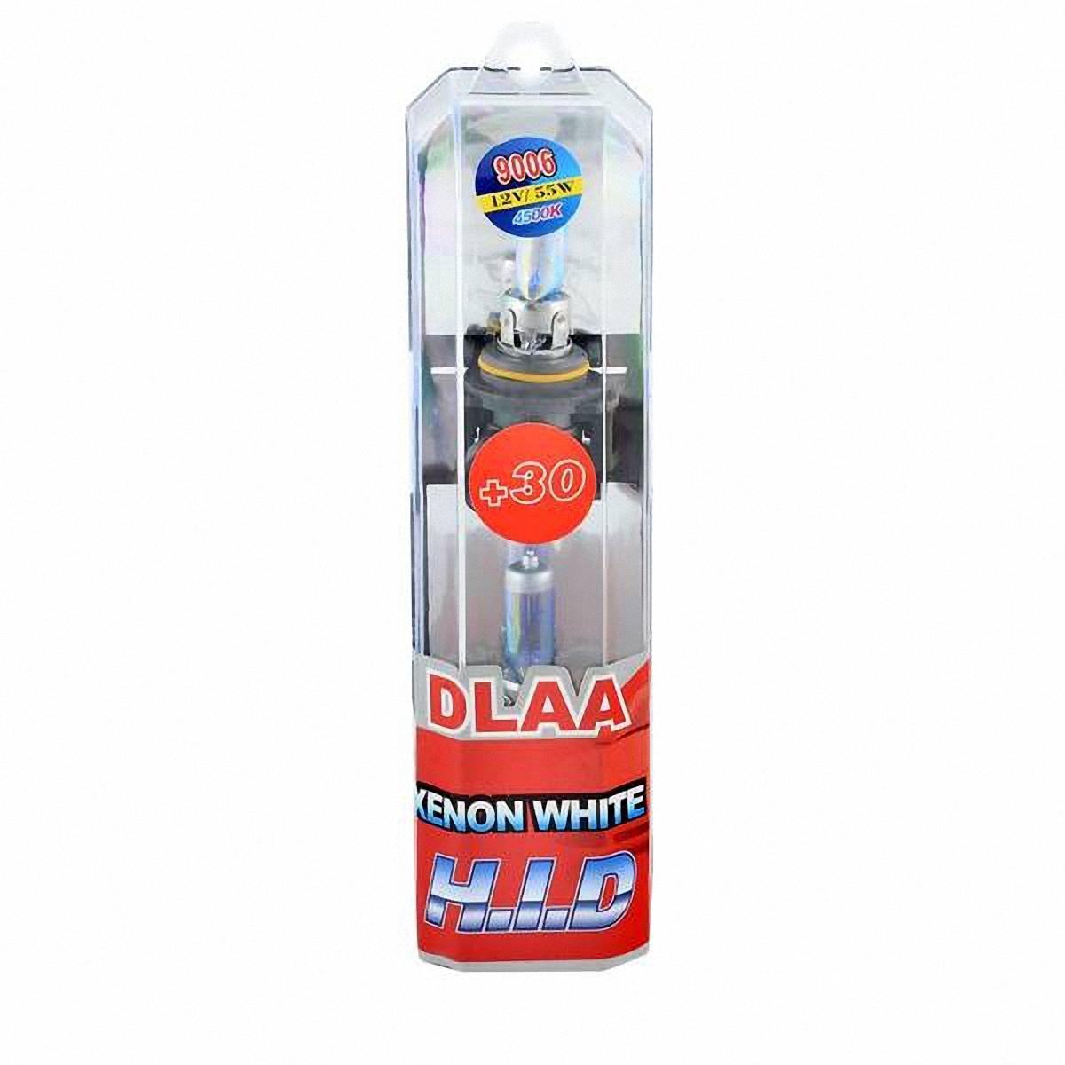 Skyway Автолампа HB4/9006 1-конт XENON WHITE+30. 9006-12V55W-P B9006-12V55W-P BГалогеновые лампы XENON WHITE+30 4500K под ксенон представляют собой очень яркие лампы, имитирующие свет ксенона. Достигается это за счет специального напыления на газонаполненные лампы, а точнее на колбы, в которые под высоким давлением закачан газ. Данные галогеновые лампы не создают неудобств водителям встречных автотранспортных средств, не превышают допустимую нагрузку на бортовую сеть автомобиля, безопасны и долговечны и отвечают всем без исключения стандартам качества.
