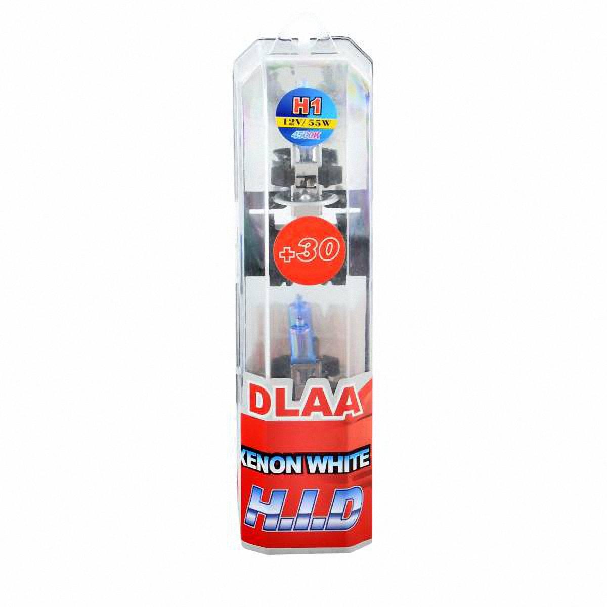 Skyway Автолампа H1 1-конт XENON WHITE+30. H1-12V55W-P BH1-12V55W-P BГалогеновые лампы XENON WHITE+30 4500K под ксенон представляют собой очень яркие лампы, имитирующие свет ксенона. Достигается это за счет специального напыления на газонаполненные лампы, а точнее на колбы, в которые под высоким давлением закачан газ. Данные галогеновые лампы не создают неудобств водителям встречных автотранспортных средств, не превышают допустимую нагрузку на бортовую сеть автомобиля, безопасны и долговечны и отвечают всем без исключения стандартам качества.