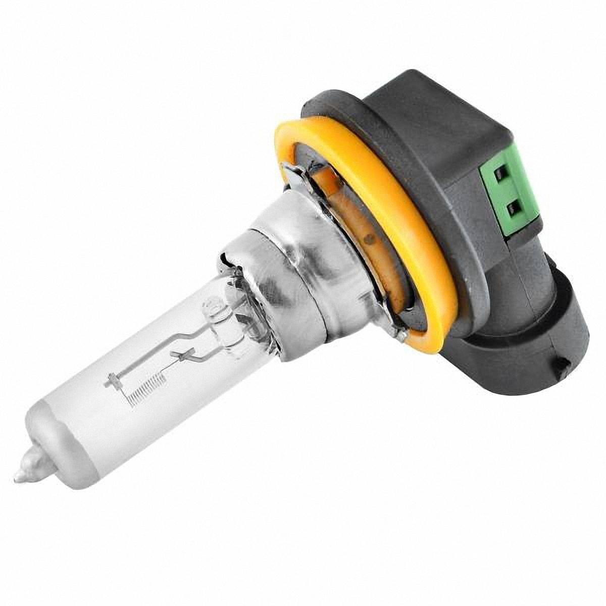 Лампа автомобильная Skyway, галогенная, цоколь H11, 55Вт, 12 ВH11-12V55W WАвтолампа представляет собой лампу накаливания, колбу которой заполняет галоген (йод или бром). Такие лампы отвечают всем без исключения стандартам качества. Для ближнего, дальнего света, противотуманных фар. Цоколь: Н11.