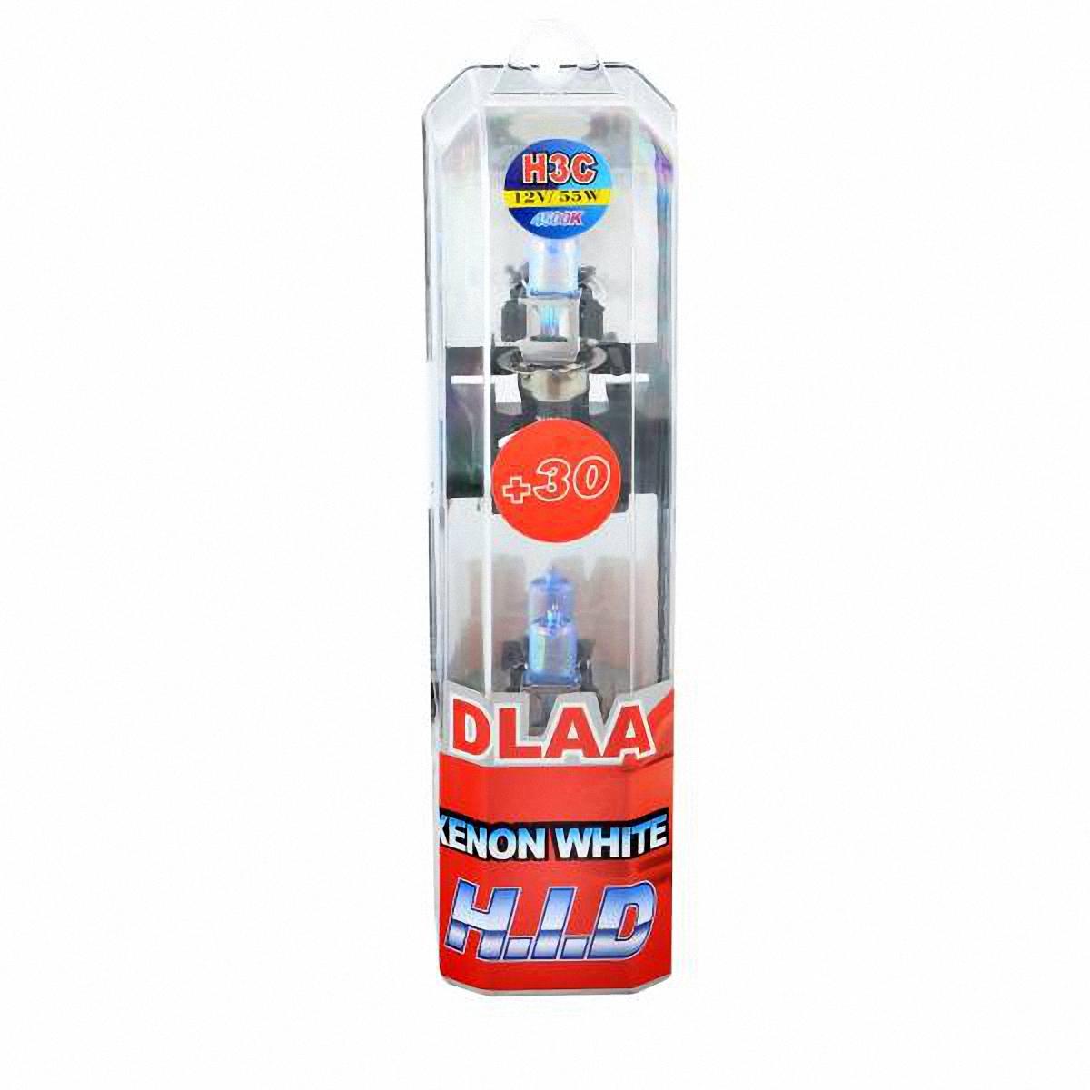 Skyway Автолампа H3С 1-конт XENON WHITE+30. H3C-12V55W-P BH3C-12V55W-P BГалогеновые лампы XENON WHITE+30 4500K под ксенон представляют собой очень яркие лампы, имитирующие свет ксенона. Достигается это за счет специального напыления на газонаполненные лампы, а точнее на колбы, в которые под высоким давлением закачан газ. Данные галогеновые лампы не создают неудобств водителям встречных автотранспортных средств, не превышают допустимую нагрузку на бортовую сеть автомобиля, безопасны и долговечны и отвечают всем без исключения стандартам качества.