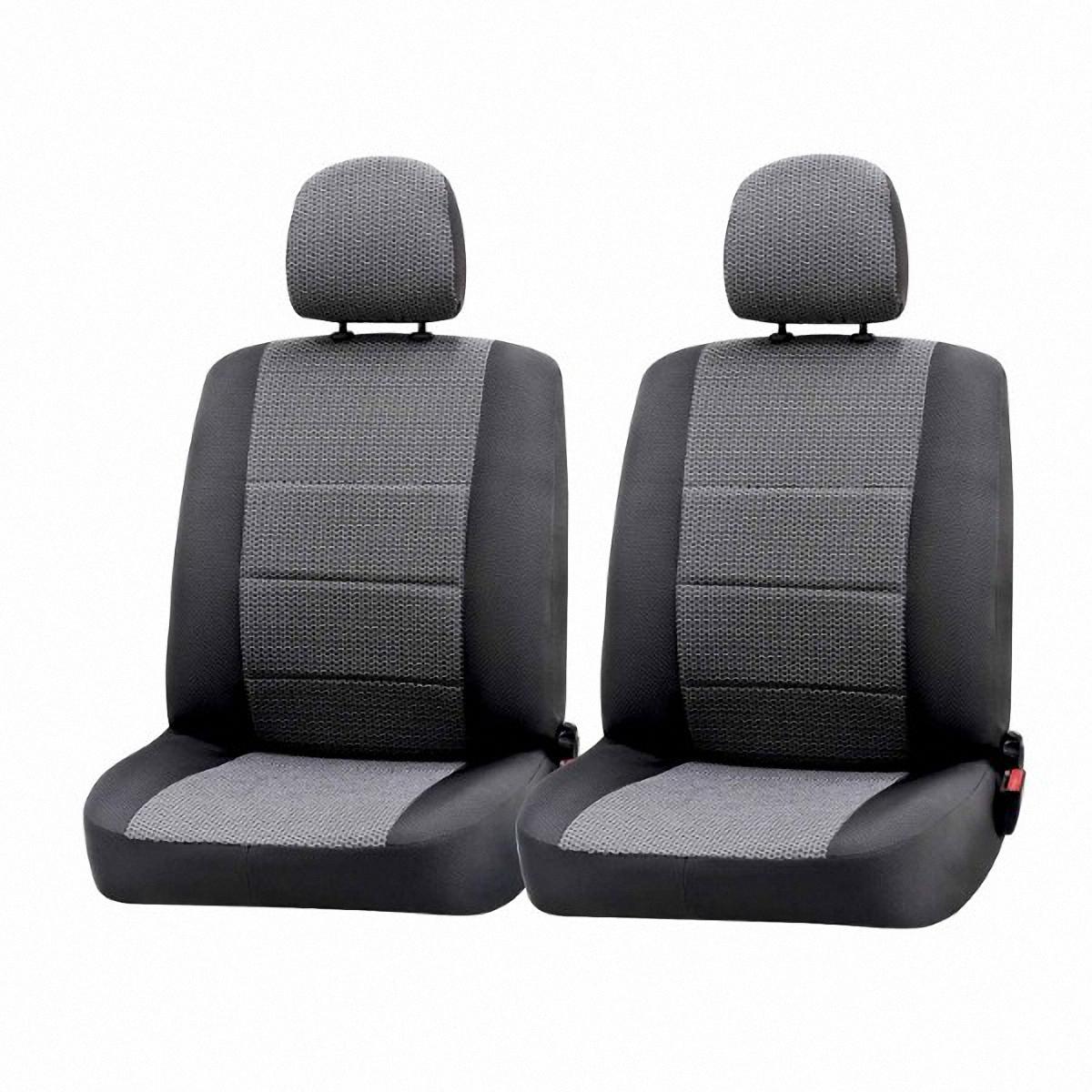 Чехлы автомобильные Skyway, для Renault Duster 2010-2015, хэтчбекRn5-2Автомобильные чехлы Skyway изготовлены из качественного жаккарда. Чехлы идеально повторяют штатную форму сидений и выглядят как оригинальная обивка сидений. Разработаны индивидуально для каждой модели автомобиля. Авточехлы Skyway просты в уходе - загрязнения легко удаляются влажной тканью. Чехлы имеют раздельную схему надевания. В комплекте 12 предметов.