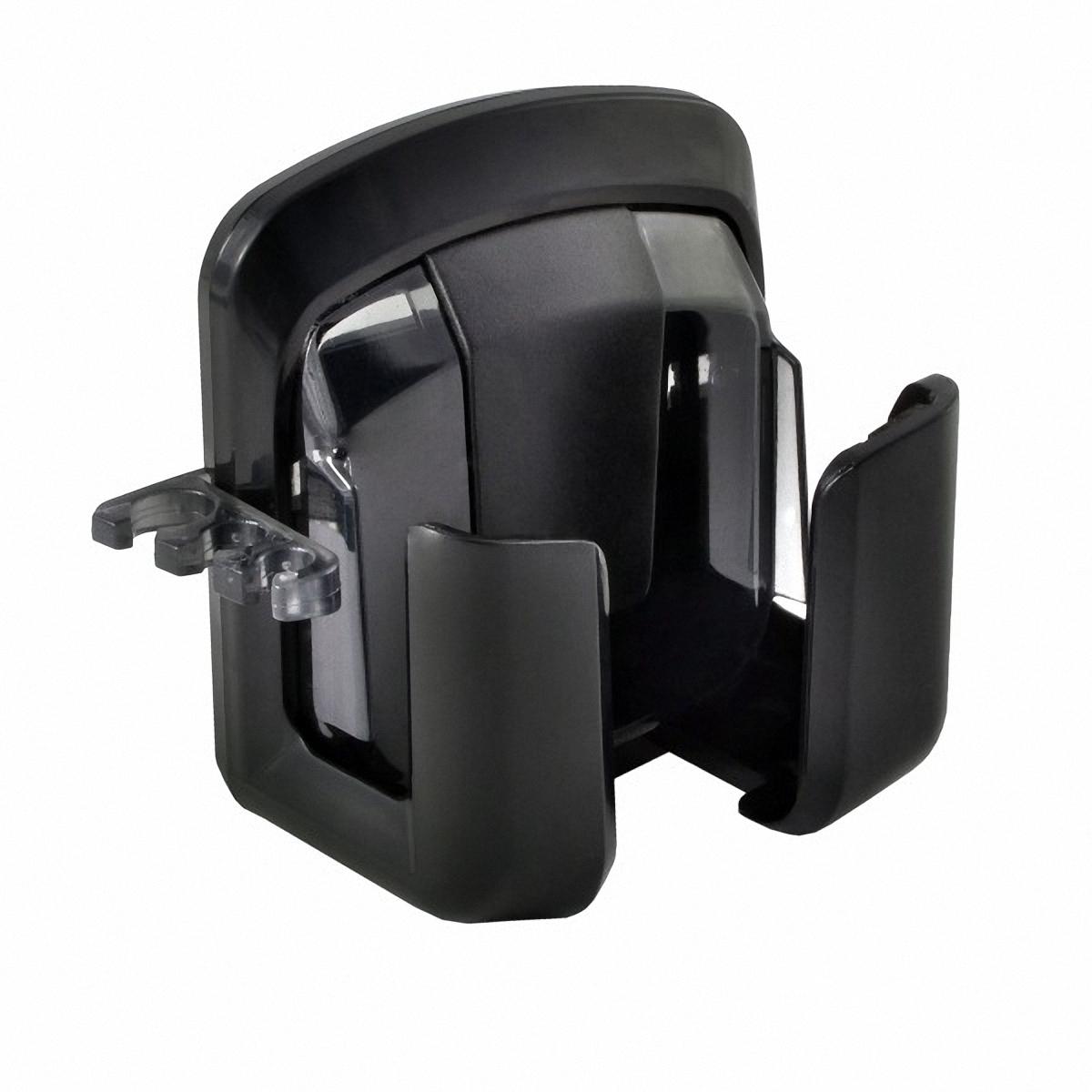 Держатель автомобильный Skyway, для телефона, на дефлектор. S00301012S00301012Держатель Skyway предназначен для телефона. Захват отделан мягкими вставками из мягкой резины, благодаря которым ваше устройство защищено от царапин. Легкая и удобная система установки позволяет быстро закрепить держатель в салоне практически любого автомобиля. Система поворота пьедестала позволяет поворачивать держатель на 360°.