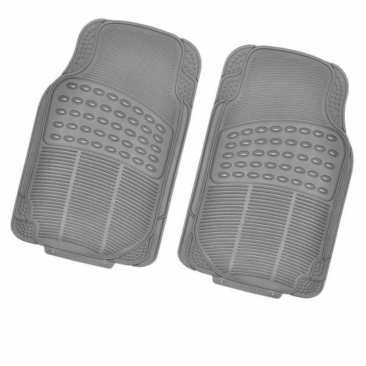 Коврик в салон автомобиля Skyway, передний, цвет: серый, 71 х 44,5 см, 2 штS01701011Комплект универсальных передних ковриков салона сохраняет эластичность даже при экстремально низких и высоких температурах (от -50°С до +50°С). Обладает повышенной устойчивостью к износу и агрессивным средам, таким как антигололёдные реагенты, масло и топливо. Усовершенствованная конструкция изделия обеспечивает плотное прилегание и надёжную фиксацию коврика на полу автомобиля. Размер: 71 х 44,5 см. Комплектация: 2 шт.