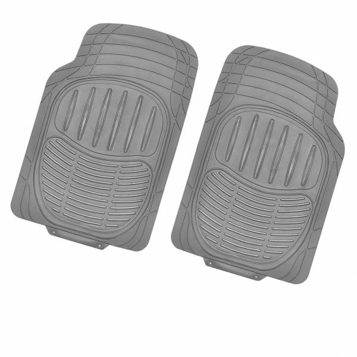 Коврик в салон автомобиля Skyway, передний, цвет: серый, 72 х 49 см, 2 штS01701018Комплект универсальных передних ковриков салона сохраняет эластичность даже при экстремально низких и высоких температурах (от -50°С до +50°С). Обладает повышенной устойчивостью к износу и агрессивным средам, таким как антигололёдные реагенты, масло и топливо. Усовершенствованная конструкция изделия обеспечивает плотное прилегание и надёжную фиксацию коврика на полу автомобиля. Размер: 72 х 49 см. Комплектация: 2 шт.