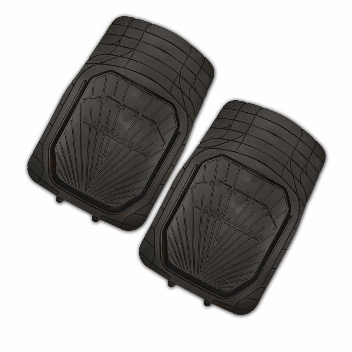 Коврик в салон автомобиля Skyway, передний, цвет: черный, 77 х 52 см, 2 штS01701022Комплект универсальных передних ковриков салона в форме ванночки сохраняет эластичность даже при экстремально низких и высоких температурах (от -50°С до +50°С). Обладает повышенной устойчивостью к износу и агрессивным средам, таким как антигололёдные реагенты, масло и топливо. Усовершенствованная конструкция изделия обеспечивает плотное прилегание и надёжную фиксацию коврика на полу автомобиля. Размер: 77 х 52 см. Комплектация: 2 шт.