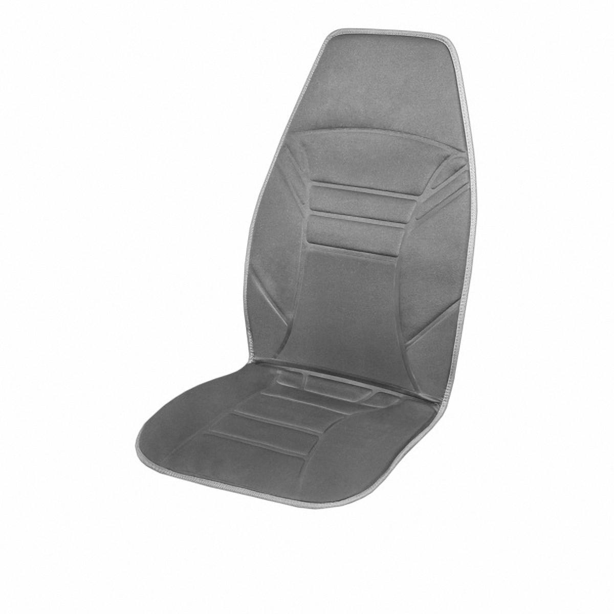 Подогрев для сиденья Skyway, со спинкой. S02201001S02201001Подогрев сиденья со спинкой с терморегулятором (2 режима) 12V; 2,5А-3А . Подогрев сидения – это сезонный товар и большой популярностью пользуется в осенне-зимний период. ТМ SKYWAY предлагает наружные подогревы сидений, изготовленные в виде накидки на автомобильное кресло. Преимущество наружных подогревов в простоте установки. Они крепятся ремнями к креслу автомобиля и подключаются к бортовой сети через гнездо прикуривателя.