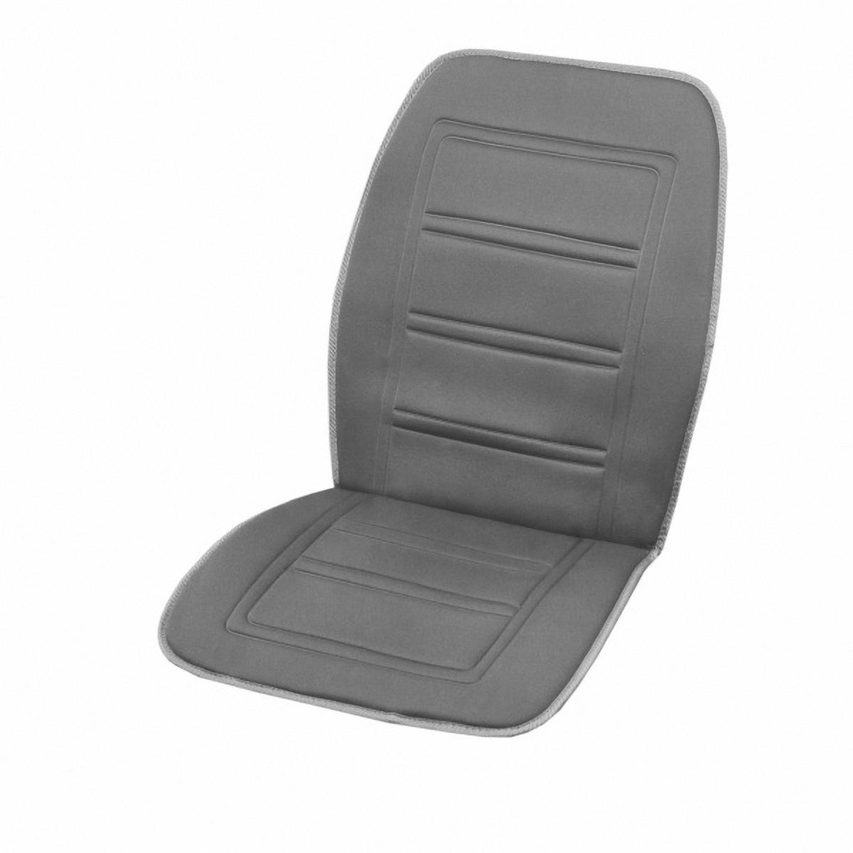 Чехол автомобильный Skyway, с подогревом, цвет: серый, 95 х 47 смS02201009Чехол на сиденье Skyway предназначен для обогрева водителя или пассажира в автомобиле. Особенности: Универсальный размер. Снижает усталость при управлении автомобилем. Обеспечивает комфортное вождение в холодное время года. Простая и быстрая установка. Умеренный и интенсивный режим нагрева. Терморегулятор для изменения интенсивности нагрева. Защита крепления шнура питания к подогреву. Питание от гнезда прикуривателя 12В. Размер: 95 х 47 см.