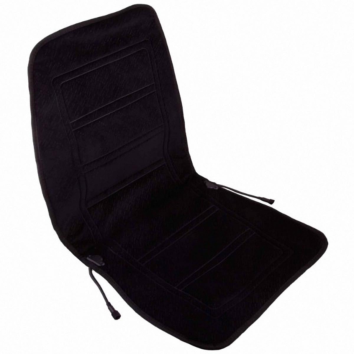 Подогрев для сиденья Skyway, со спинкой, цвет: черный, 95 х 47 смS02201018В подогреве для сиденья Skyway в качестве теплоносителя применяется углеродный материал. Такой нагреватель обладает феноменальной гибкостью и прочностью на разрыв в отличие от аналогов, изготовленных из медного или иного металлического провода. Особенности: - Универсальный размер. - Снижает усталость при управлении автомобилем. - Обеспечивает комфортное вождение в холодное время года. - Простая и быстрая установка. - Умеренный и интенсивный режим нагрева. - Терморегулятор для изменения интенсивности нагрева. - Защита крепления шнура питания к подогреву. Устройство подключается к прикуривателю на 12V.