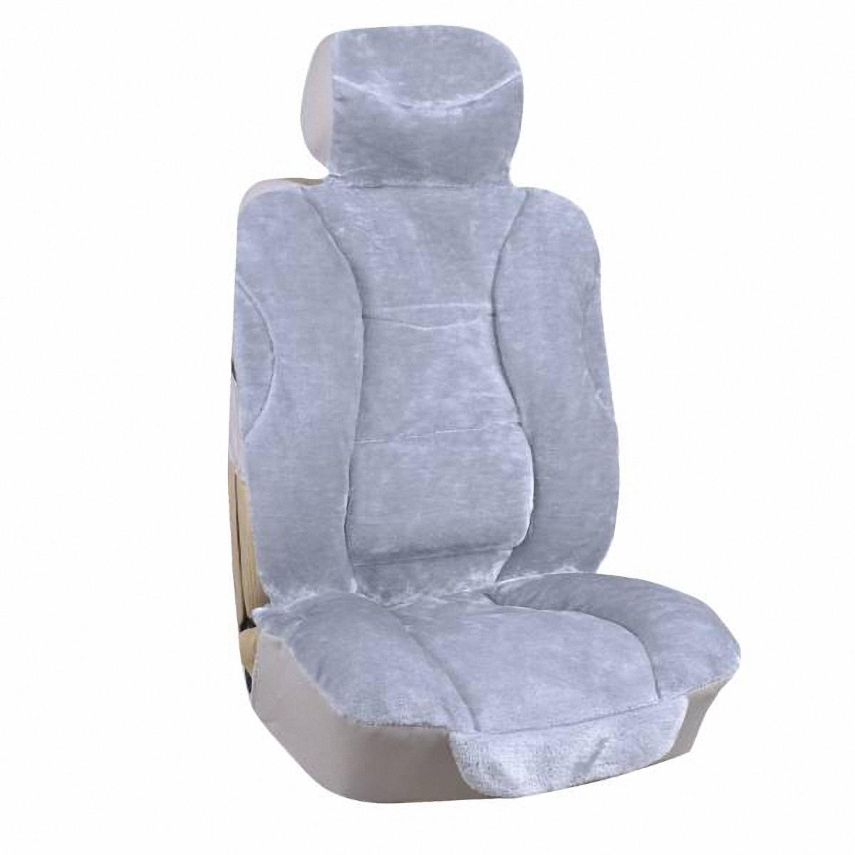 Чехлы автомобильные Skyway. S03001052S03001052Меховые накидки Skyway сделаны с учетом предпочтений своих потребителей, которые хотят видеть салон своего автомобиля, похожим на теплый уютный дом, а не на холодный облезлый гараж. Удобные и мягкие накидки будут как никогда актуальны перед морозной зимой, потому что всегда согреют своим теплом и добавят красок в салон во время белого однообразия на улице. Удобные, как домашний диван, они сделают салон таким комфортным, что не захочется возвращаться домой. Сделанные из искусственного меха, они не лезут, довольно просто крепятся и плотно сидят, не съезжая в разные стороны.
