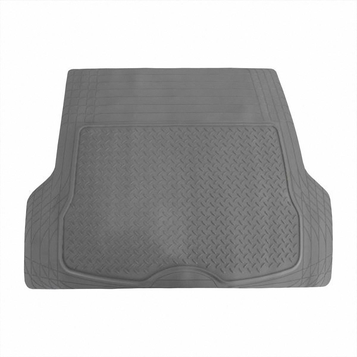 Коврик в салон автомобиля Skyway, в багажник, цвет: серый, 109,5 х 144 смS04701002Коврик сохраняет эластичность даже при экстремально низких и высоких температурах (от -50°С до +50°С). Обладает повышенной устойчивостью к износу и агрессивным средам, таким как антигололёдные реагенты, масло и топливо. Усовершенствованная конструкция изделия обеспечивает плотное прилегание и надёжную фиксацию коврика на полу автомобиля. Размер: 109,5 х 144 см.