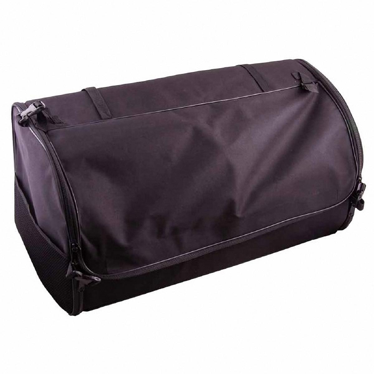 Органайзер автомобильный Skyway, в багажник, цвет: черный, 60 х 30 х 30 см. S06401005S06401005Органайзер Skyway используется в багажнике для хранения различных вещей и мелких предметов, позволит вам компактно разместить все необходимые инструменты и аксессуары. Также может использоваться в качестве обычной сумки. Изготовлен из материала оксфорд. Материал очень прочный, устойчив к химическим веществам, долговечный и непромокаемый. Органайзер имеет боковые карманы-сетки, крышку на липучке и два больших кармана.