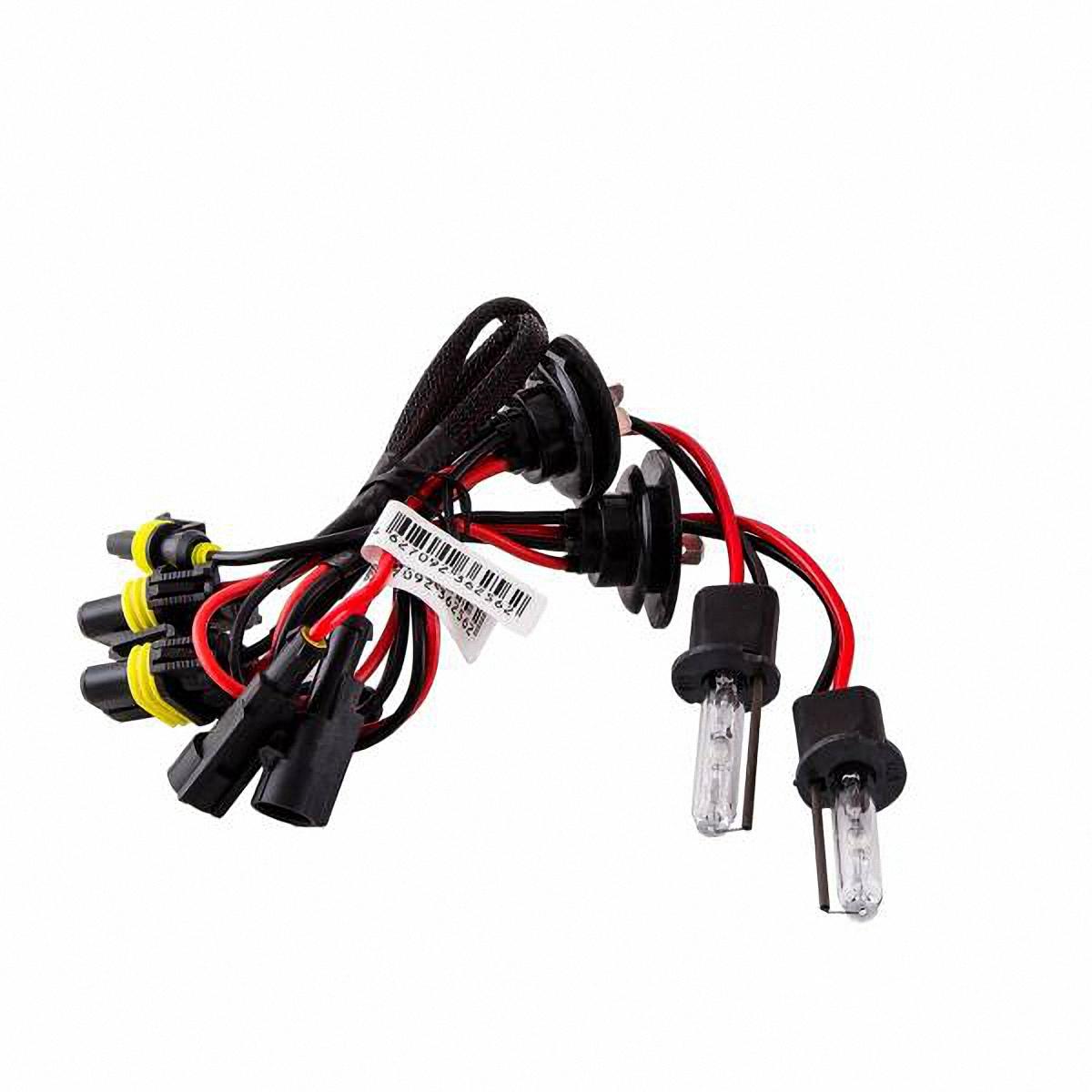Лампа автомобильная Skyway, ксенон, цоколь H3, 35 Вт, 12 В, 2 штSH3 5000KЛампы автомобильные Skyway - комплект ксеноновых ламп без блока розжига. Автолампы с цоколем Н3 предназначены для противотуманных фар. Их размеры достаточно малы, и от них отходят 2 проводка (+ и -). Автолампа ксенон SKYWAY устойчива к тряскам, имеет продолжительный срок эксплуатации. За счет лучшего освещения дорожной разметки и дорожных знаков, вы будете чувствовать себя уверенно в плохих погодных условиях и в темное время суток. А мягкий белый свет лампы не ослепляет водителей встречного потока автомобилей. Особенности: Колба изготовлена из кварцевого стекла Водонепроницаемый корпус Короткое время розжига Срок службы более 3000 часов Излучают на 300 % больше света, чем галогеновые лампы Увеличенная яркость свечения Характеристики: Цветовая температура: 5000 К Яркость: 3200 Лм Тип цоколя: Н3 Диапазон входного напряжения: 9-32 В Потребляемая мощность: 35 Вт ...