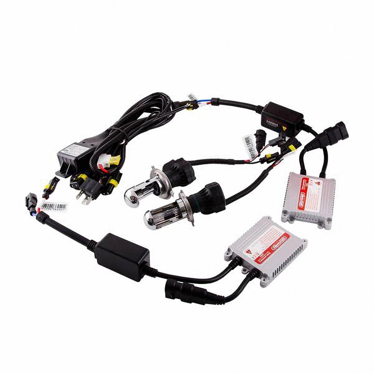 Skyway Автолампа ксенон H7. SH7 6000K D13 12V35WSH7 6000K D13 12V35WКомплектация: Лампа газоразрядная ксеноновая – 2 шт. Блок розжига – 2 шт. Винты для блока розжига – 6 шт. Гарантийный талон – 1 шт.