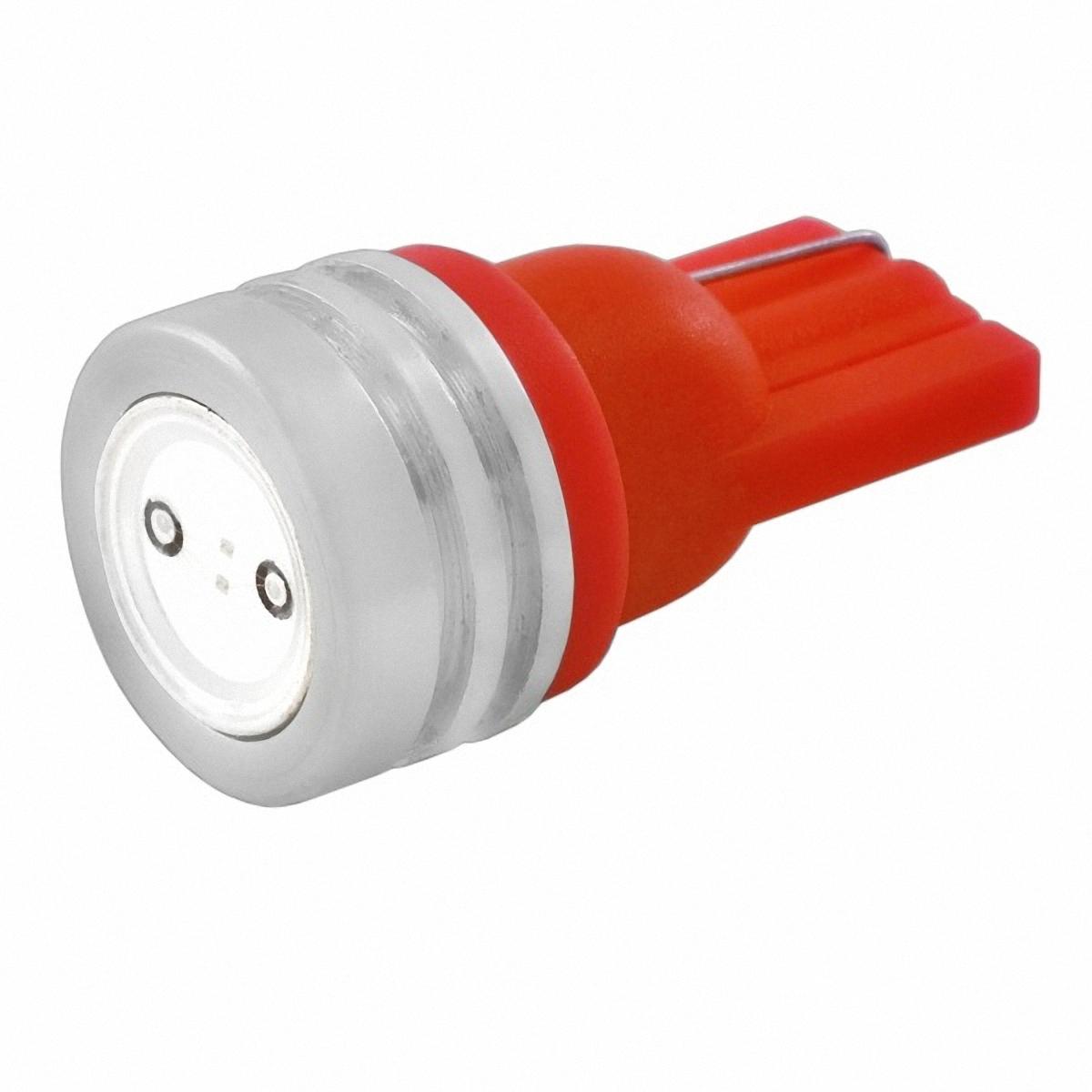 Skyway Автолампа диод T10 (W5W). ST10HP-1RST10HP-1R1 SMD диод EXTRA LIGHT без цоколя радиатор 1-контактная Красная