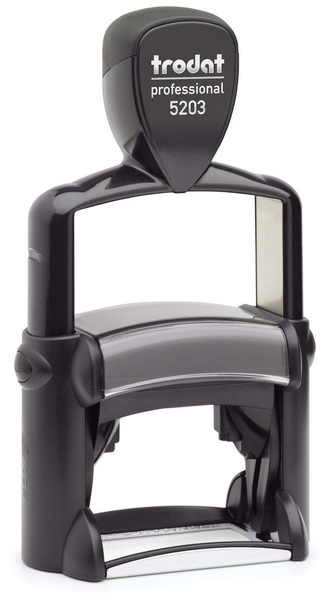 Trodat Оснастка для штампа 49 х 28 мм5203Оснастка для штампа Trodat будет незаменима в отделе кадров или в бухгалтерии любой компании. Прочный корпус с автоматическим окрашиванием гарантирует долговечное бесперебойное использование. Модель отличается высочайшим удобством в использовании и оптимально ложится в руку. Оттиск проставляется практически бесшумно, легким нажатием руки. Улучшенная конструкция и видимая площадь печати гарантируют качество и точность оттиска. Текстовые пластины прямоугольной формы 49 мм х 28 мм подойдут для изготовления клише по индивидуальному заказу.