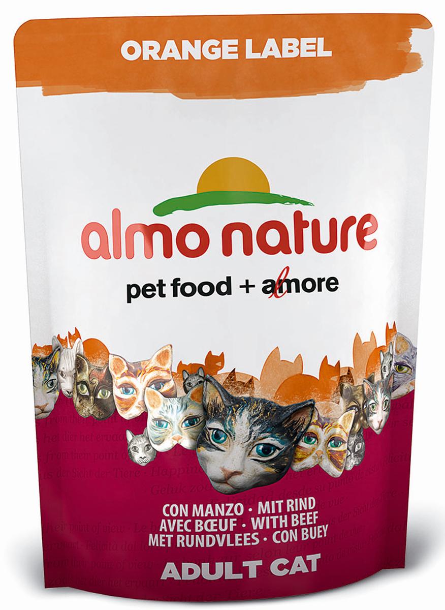 Корм сухой Almo Nature Orange Label, для кастрированных кошек, с говядиной, 105 г23234Сухой корм Almo Nature Orange Label для кастрированных кошек - это высококачественный экологически чистый корм на основе отборных натуральных ингредиентов. Корм обогащен витаминами и минералами. Идеально подходит для домашних кошек, склонных к полноте, а также - для кастрированных котов и стерилизованных кошек. Не содержит ГМО, антибиотиков, химических добавок, консервантов и красителей. Состав: мясо говядины и ее производные 41% (из которых 25 % свежего мяса и 26% дегидрированного мяса), злаки, экстракт растительного белка, масла и жиры, дрожжи, минералы, субпродукты растительного происхождения. Питательные добавки: таурин 0,5 г/кг, L-карнитин 0,1 г/кг, витамин D3 290 МЕ/кг, витамин C 72 мг/кг, витамин E 145 мг/кг. Микроэлементы: железо 9 мк/кг, медь 0,1 мк/кг, цинк 59 мг/кг, марганец 0,5 мг/кг. Анализ: белки - 32%, клетчатка - 1,4%, жиры - 12,7%, зола - 7%, влажность - 9%. Товар сертифицирован.