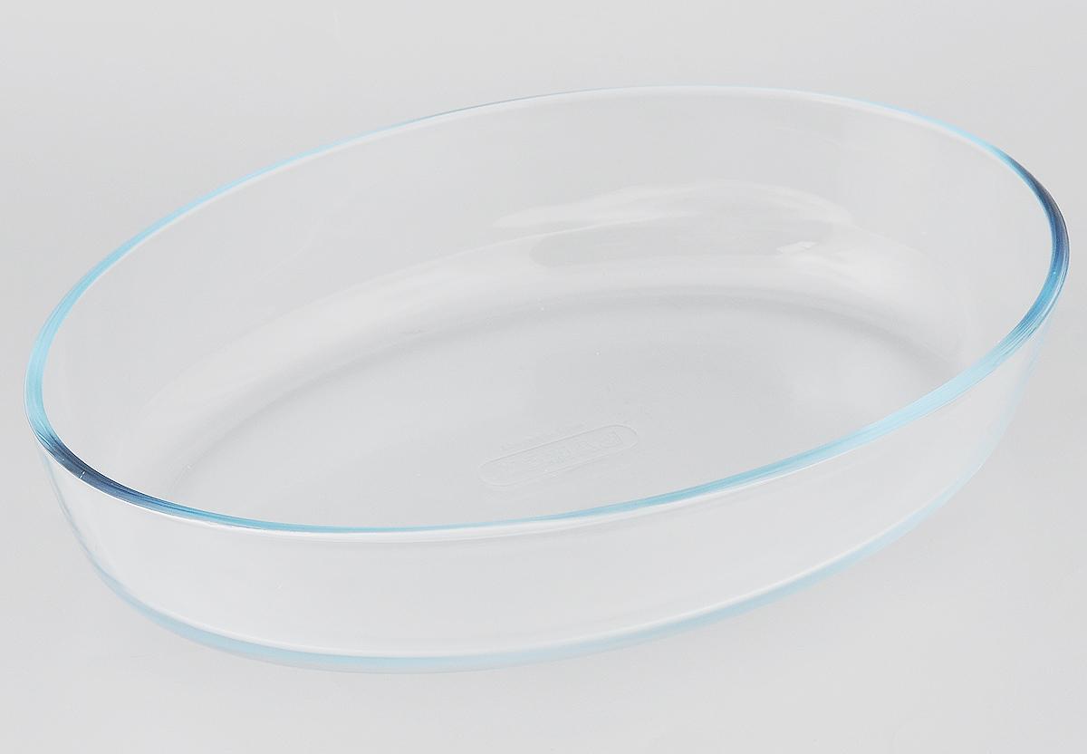 Форма для выпечки Pyrex Classic, овальная, 30 x 21 см345B000/5644Форма Pyrex Classic изготовлена из прозрачного жаропрочного стекла. Непористая поверхность исключает образование бактерий, великолепно моется. Изделие идеально подходит для приготовления в духовом шкафу. Выдерживает перепад температур от -40°C до +300°C. Форма Pyrex Classic подходит для использования в микроволновой печи, приготовления блюд в духовке, хранения пищи в холодильнике. Можно мыть в посудомоечной машине. Размер формы (по верхнему краю): 30 х 21 см. Высота формы: 6 см.