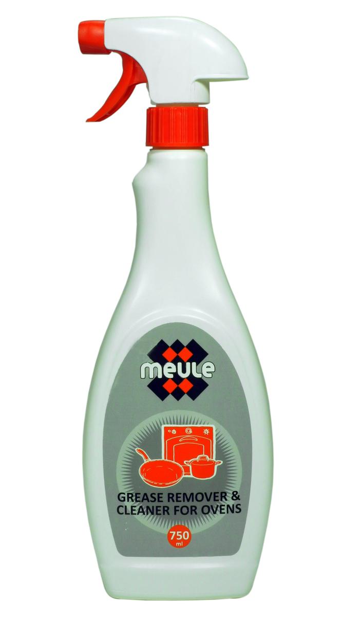 Средство для удаления жира и копоти Meule Grease Remover, 750 мл .7290013129772Meule Grease Remover 750 ml.- Жироудалитель эффективное чистящее средство для удаления жира и копоти. Идеально удаляет стойкие и пригоревшие жиры с газовых и электрических плит,жаровен, гриля, барбекю, а так же с кухонной посуды и других поверхностей.