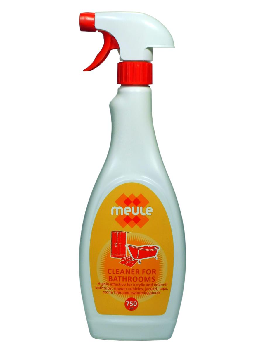 Средство чистящее для ванны Meule, 750 мл7290013129789Meule Anti Calk for Acrylic Bathtubs 750 ml - Чистящее средство для акриловых и эмалированных ванн, джакузи, душевых кабин, кранов, кафеля и бассейнов. Мгновенно очищает поверхности от известкового налёта, ржавчины, плесени, грибка, мыльных пятен. Эффективен против застарелых пятен. Полирует все виды поверхностей. Придаёт блеск на долгое время.