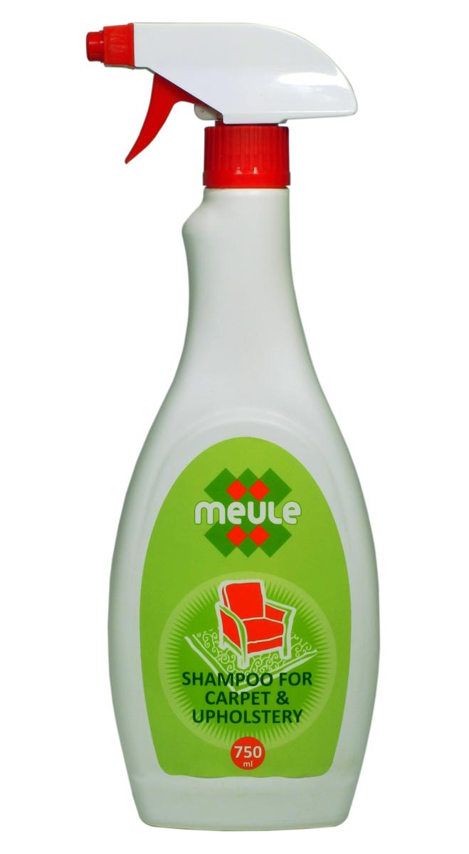 Шампунь для ковров Meule, 750 мл7290013129796Meule Carpet Cleaner 750 ml - Шампунь для мытья и чистки ковров и обивочных тканей. Особый пенящийся шампунь для чистки ковров и обивочной ткани. Предназначен для использования в жилых, офисных и других помещениях. Биологически активные компоненты в основе средства растворяют различные виды загрязнений.