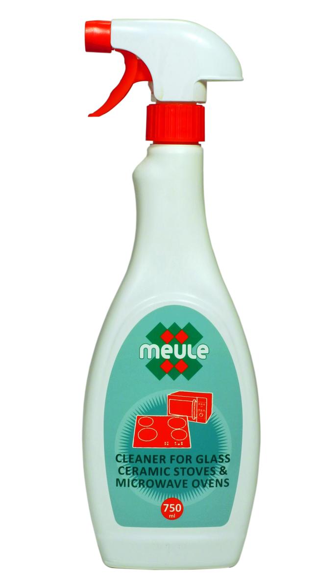Средство Meule, для чистки стеклокерамических поверхностей, 750 мл7290104930249Meule Ovens Cleaner 750 ml - Средство для чистки стеклокерамических поверхностей и микроволновых печей. Идеально удаляет остатки грязи и жира. Подходит для чистки духовых шкафов и газовых горелок. Растворяет стойкие и подгоревшие жиры. Не царапает поверхность.