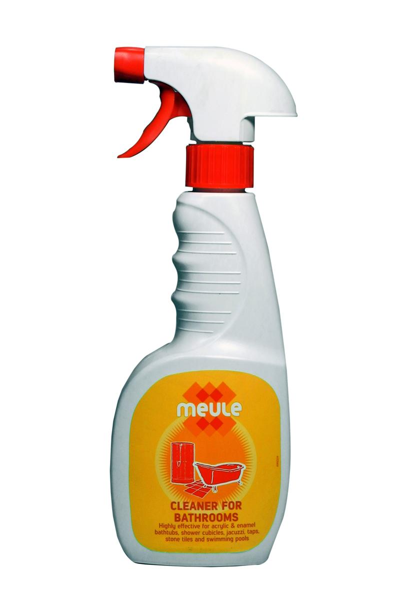 Средство чистящее для ванны Meule, 450 мл7290104930881Meule Anti Calk for Acrylic Bathtubs 450 ml - Чистящее средство для акриловых и эмалированных ванн, джакузи, душевых кабин, кранов, кафеля и бассейнов. Мгновенно очищает поверхности от известкового налёта, ржавчины, плесени, грибка, мыльных пятен. Эффективен против застарелых пятен. Полирует все виды поверхностей. Придаёт блеск на долгое время.