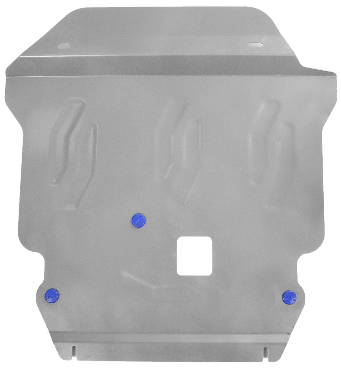 Защита картера и КПП Rival, для Dodge Journey333.1501.1Защита картера и КПП для Dodge Journey , V - 3,6 2007- , крепеж в комплекте, алюминий 4 мм, Rival. Надежно защищают днище вашего автомобиля от повреждений, например при наезде на бордюры, а также выполняют эстетическую функцию при установке на высокие автомобили. - Толщина алюминиевых защит в 2 раза толще стальных, а вес при этом меньше до 30%. - Отлично отводит тепло от двигателя своей поверхностью, что спасает двигатель от перегрева в летний период или при высоких нагрузках. - В отличие от стальных, алюминиевые защиты не поддаются коррозии, что гарантирует срок службы защит более 5 лет. - Покрываются порошковой краской, что надолго сохраняет первоначальный вид новой защиты и защищает от гальванической коррозии. - Глубокий штамп дополнительно усиливает конструкцию защиты. - Подштамповка в местах крепления защищает крепеж от срезания. - Технологические отверстия там, где они необходимы для смены масла и слива...