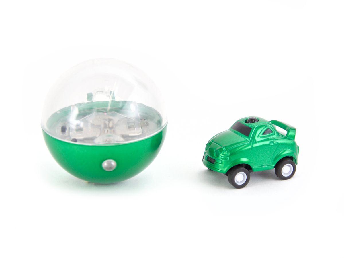Pilotage Машинка в шаре на инфракрасном управлении цвет зеленыйRC39136Микро машинка на ИК управлении в прозрачном шаре в виде елочной игрушки неподдельно восхищает своими габаритами, достаточно высокой скоростью и маневренностью. Азарт гонок на этих микро машинках захватывает не только детей, но и взрослых мужчин.