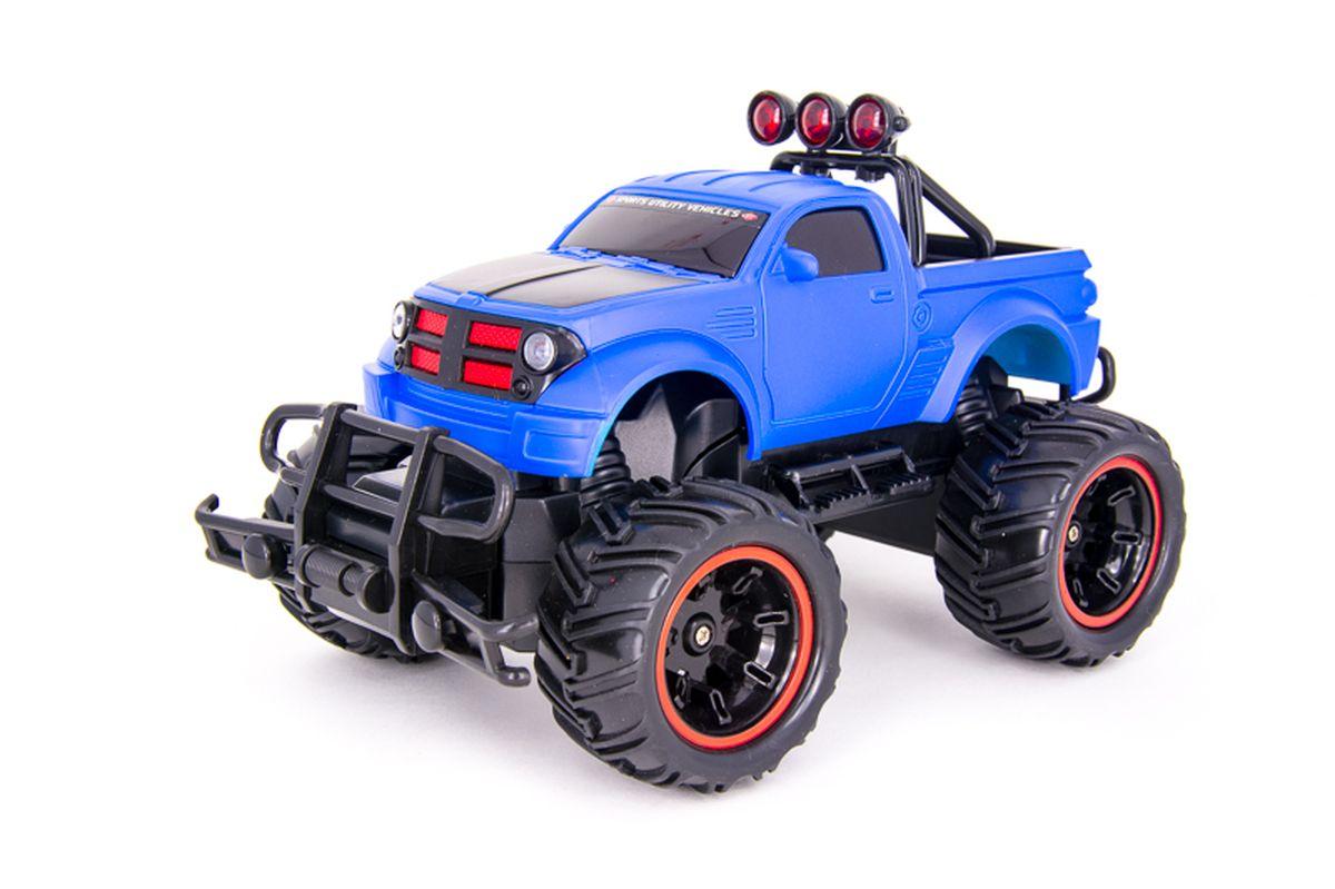 Pilotage Машина на радиоуправлении Внедорожник Off-Road Race Truck цвет синий масштаб 1/20