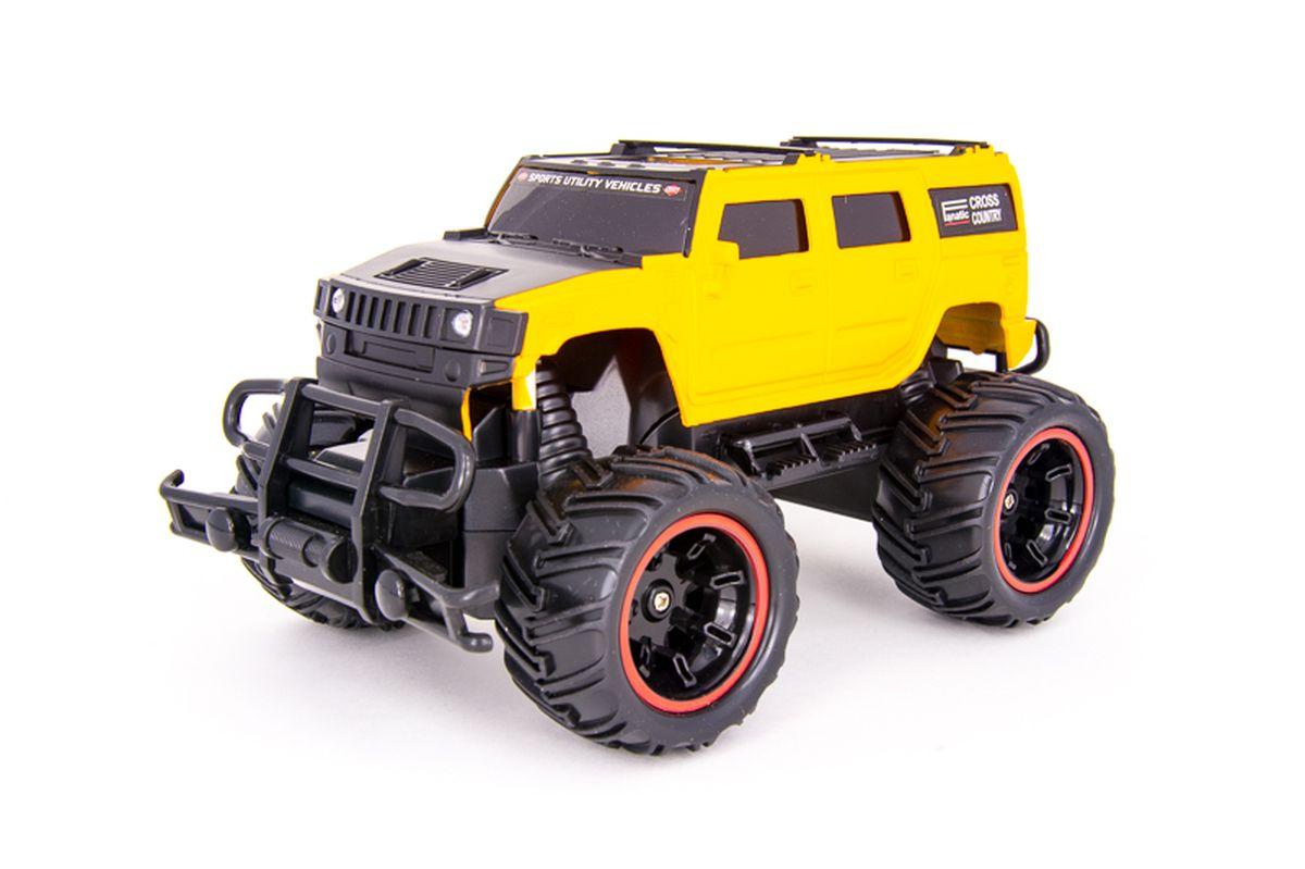 Pilotage Машина на радиоуправлении Внедорожник Off-Road Race Truck цвет желтый масштаб 1/20
